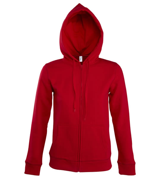 Bluza dresowa Ladies S 47900 SEVEN WOMEN 290 - 47900_red_S - Kolor: Red