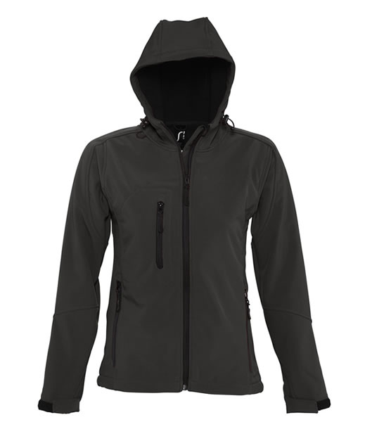 Kurtka Softshell Ladies S 46802 REPLAY WOMEN - 46802_black_S - Kolor: Black
