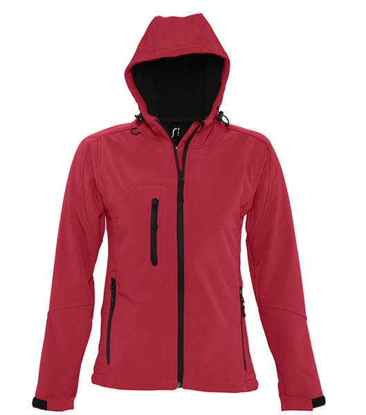 Kurtka Softshell Ladies S 46802 REPLAY WOMEN - 46802_pepper_red_S - Kolor: Pepper red
