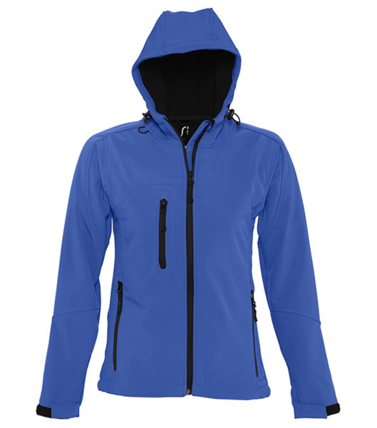 Kurtka Softshell Ladies S 46802 REPLAY WOMEN - 46802_royal_blue_S - Kolor: Royal blue