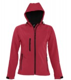 Kurtka Softshell Ladies S 46802 REPLAY WOMEN - 46802_pepper_red_S Pepper red