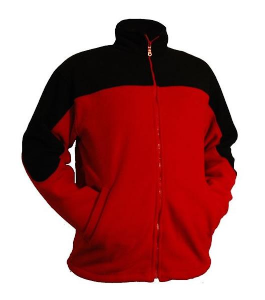 A Bluzy polarowe PROMO 357 - 357_wzor_PE - Kolor: wzór