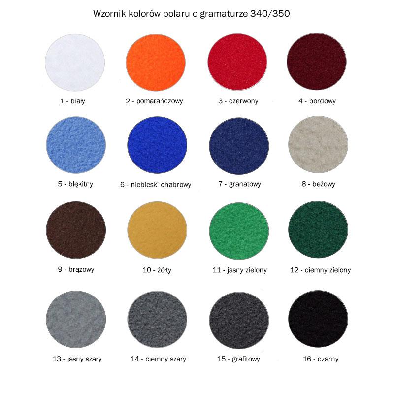 A Bluzy polarowe PROMO 451 - 451_wzornik_kolorow_PE - Kolor: wzór