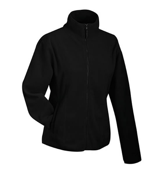 Bluzy polarowe Ladies JN049 Microfleece Jacket - 049_black_JN - Kolor: Black