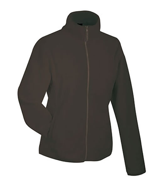 Bluzy polarowe Ladies JN049 Microfleece Jacket - 049_brown_JN - Kolor: Brown