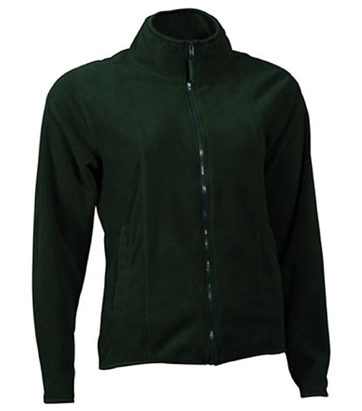 Bluzy polarowe Ladies JN049 Microfleece Jacket - 049_dark_green_JN - Kolor: Dark green