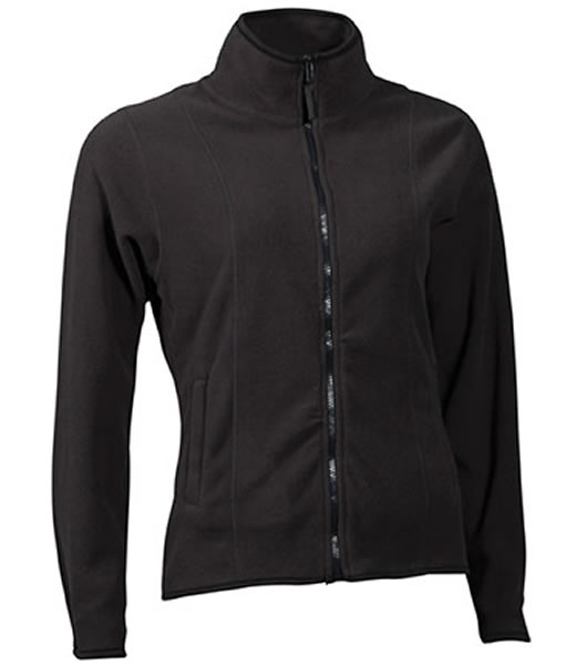 Bluzy polarowe Ladies JN049 Microfleece Jacket - 049_dark_grey_JN - Kolor: Dark grey