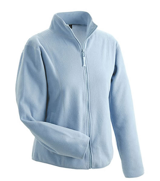 Bluzy polarowe Ladies JN049 Microfleece Jacket - 049_light_blue_JN - Kolor: Light blue