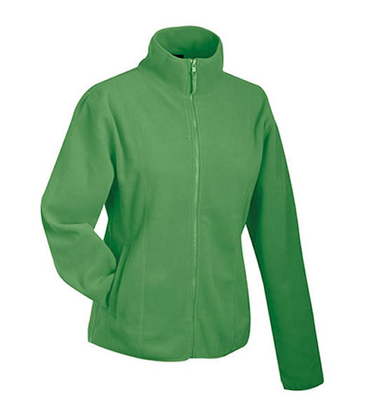 Bluzy polarowe Ladies JN049 Microfleece Jacket - 049_lime_green_JN - Kolor: Lime green