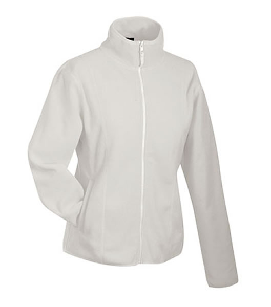 Bluzy polarowe Ladies JN049 Microfleece Jacket - 049_off-white_JN - Kolor: Off-white
