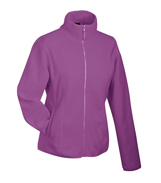 Bluzy polarowe Ladies JN049 Microfleece Jacket - 049_purple_JN - Kolor: Purple