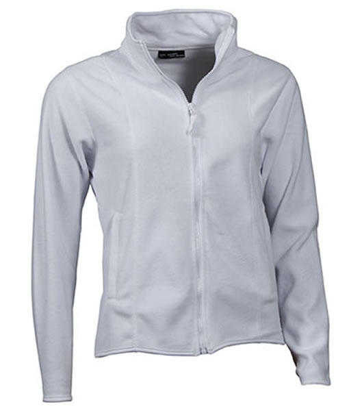 Bluzy polarowe Ladies JN049 Microfleece Jacket - 049_white_JN - Kolor: White