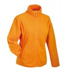 Bluzy polarowe Ladies JN049 Microfleece Jacket - 049_orange_JN Orange
