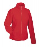 Bluzy polarowe Ladies JN049 Microfleece Jacket - 049_red_JN Red