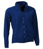 Bluzy polarowe Ladies JN049 Microfleece Jacket - 049_royal_JN Royal