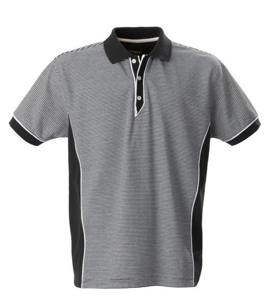 Koszulki Polo H 2135022 HENDERSON - henderson_black_stripe_910_H - Kolor: Black stripe
