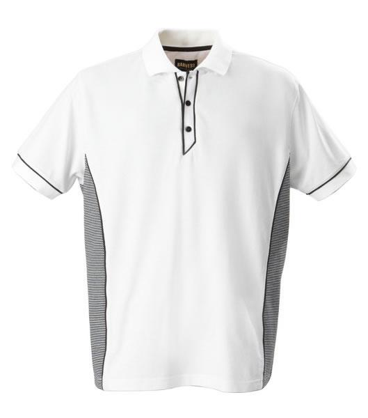Koszulki Polo H 2135021 HANFORD  - hanford_white_100_H - Kolor: White