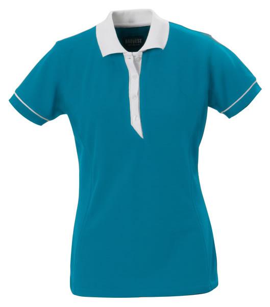 Koszulki Polo Ladies H 2125023 ALEXANDRIA - alexandria_turquoise_535_H - Kolor: Turquoise
