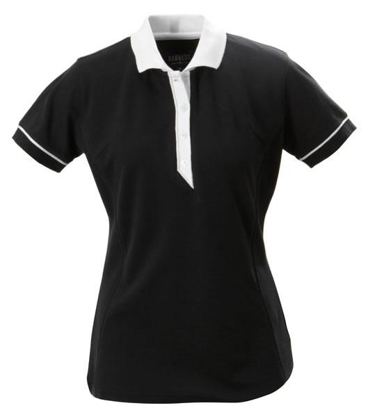 Koszulki Polo Ladies H 2125023 ALEXANDRIA - alexandria_black_900_H - Kolor: Black