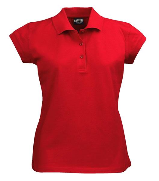 Koszulki Polo Ladies H 2155005 BIRDIE - birdie_red_400_H - Kolor: Red