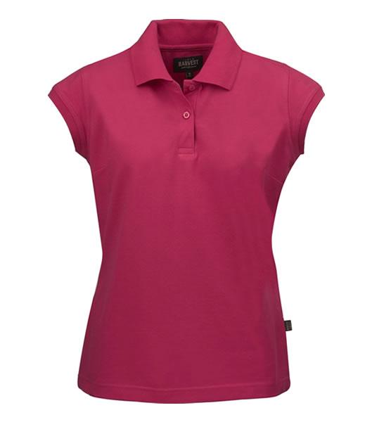 Koszulki Polo Ladies H 2155005 BIRDIE - birdie_rubin_red_477_H - Kolor: Rubin red