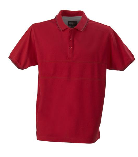 Koszulki Polo H 2145007 RAWLINS - rawlins_red_400_H - Kolor: Red