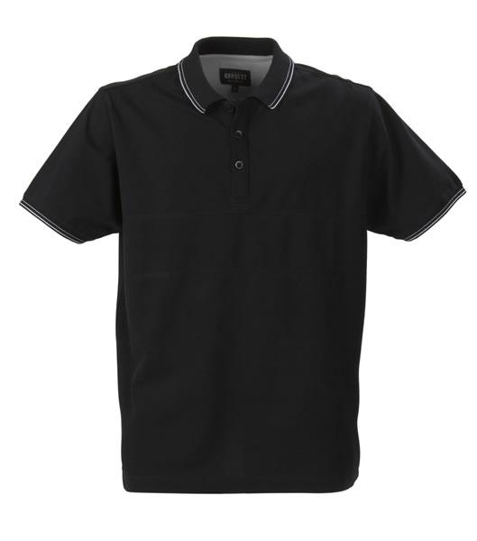 Koszulki Polo H 2145007 RAWLINS - rawlins_black_900_H - Kolor: Black