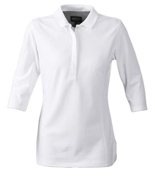 Koszulki Polo Ladies H 2125022 ROSEVILLE - roseville_white_100_H - Kolor: White