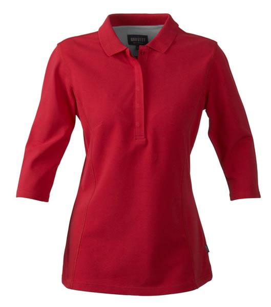 Koszulki Polo Ladies H 2125022 ROSEVILLE - roseville_red_400_H - Kolor: Red