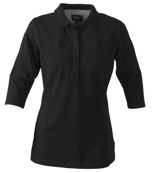 Koszulki Polo Ladies H 2125022 ROSEVILLE - roseville_black_900_H - Kolor: Black