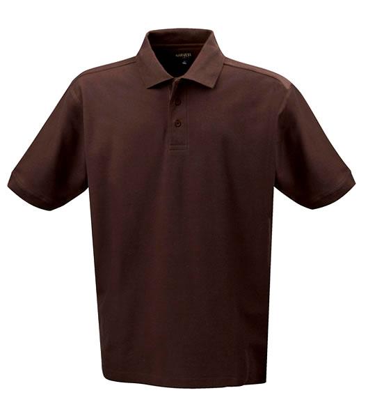Koszulki Polo H 2135008 MORTON - morton_brown_801_H - Kolor: Brown