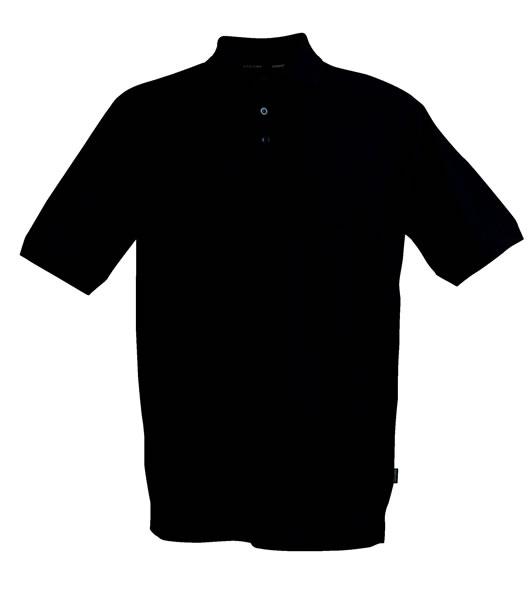 Koszulki Polo H 2135008 MORTON - morton_black_900_H - Kolor: Black