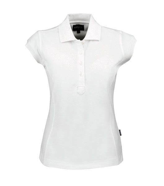 Koszulki Polo Ladies H 2125016 TIFFIN - tiffin_white_100_H - Kolor: White