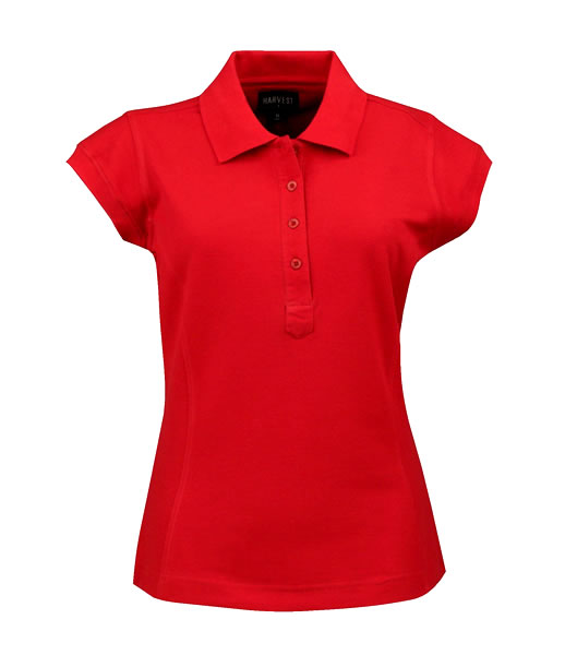 Koszulki Polo Ladies H 2125016 TIFFIN - tiffin_red_400_H - Kolor: Red