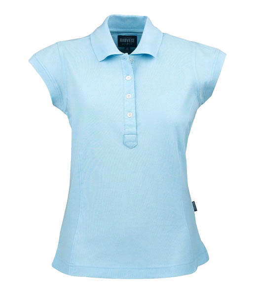 Koszulki Polo Ladies H 2125016 TIFFIN - tiffin_light_blue_510_H - Kolor: Light blue