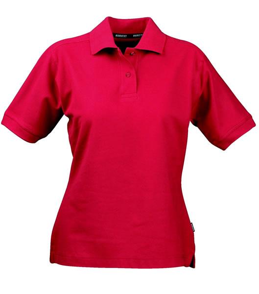 Koszulki Polo Ladies H 2125011 SEMORA - semora_red_400_H - Kolor: Red