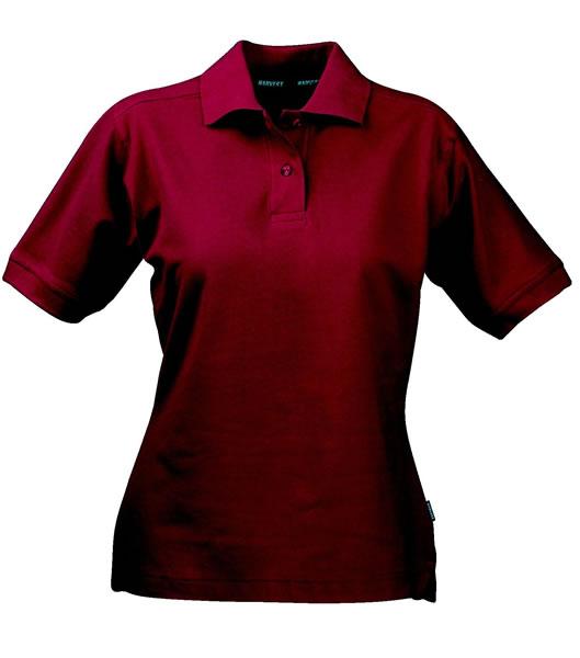 Koszulki Polo Ladies H 2125011 SEMORA - semora_wine_454_H - Kolor: Wine