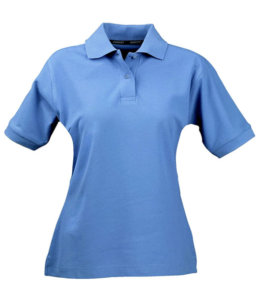 Koszulki Polo Ladies H 2125011 SEMORA - 655_pigeon_blue_H - Kolor: Pigeon blue