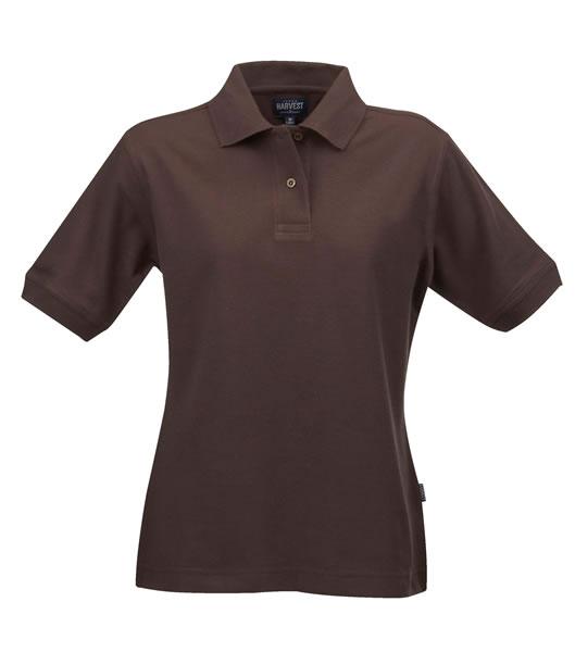Koszulki Polo Ladies H 2125011 SEMORA - semora_brown_801_H - Kolor: Brown