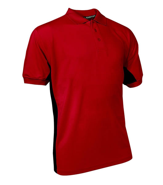 Koszulki Polo H 2145001 BIRKDALE - birkdale_red_400_H - Kolor: Red