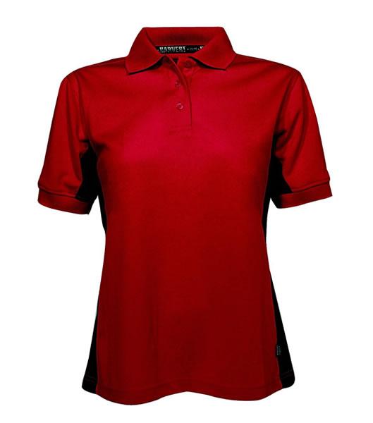 Koszulki Polo Ladies H 2155001ST ANNES - stannes_red_400_H - Kolor: Red