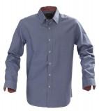 Koszula H 2113027 BRIGHTON - brighton_blue_check_505_H Blue check