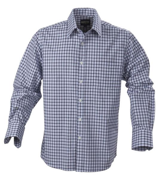 Koszula H 2113026 AUSTIN - austin_blue_check_505_H - Kolor: Blue check