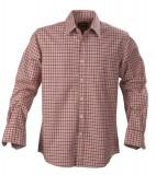 Koszula H 2113026 AUSTIN - austin_red_check_404_H Red check