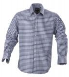 Koszula H 2113026 AUSTIN - austin_blue_check_505_H Blue check