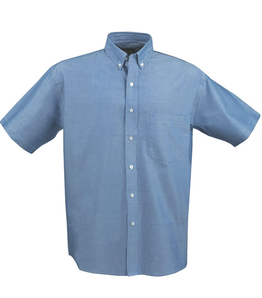 Koszula H 2113015 BRISBANE - brisbane_blue_506_H - Kolor: Blue