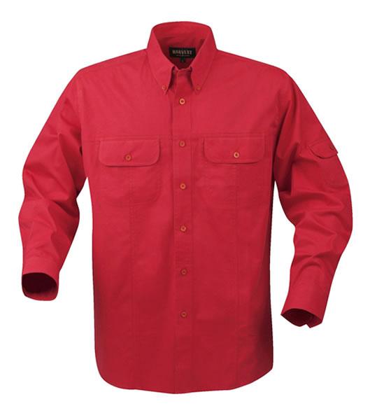 Koszula H 2133010 TREMONT - tremont_red_400_H - Kolor: Red