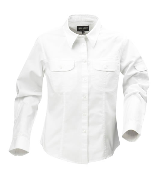 Koszula Ladies H 2123010 MARION - marion_white_100_H - Kolor: White