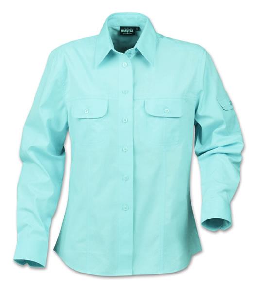 Koszula Ladies H 2123010 MARION - marion_light_blue_510_H - Kolor: Light blue