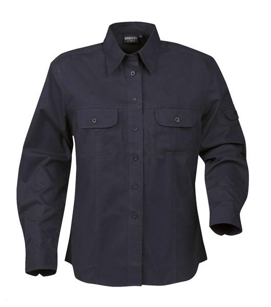Koszula Ladies H 2123010 MARION - marion_navy_600_H - Kolor: Navy